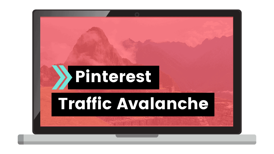 pinterest traffica avalanche course create and go