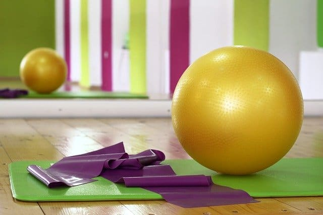an exercise and yoga mat gym frugal living tips