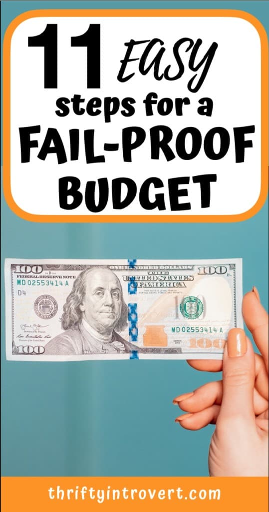 11 easy steps to create a budget for beginners