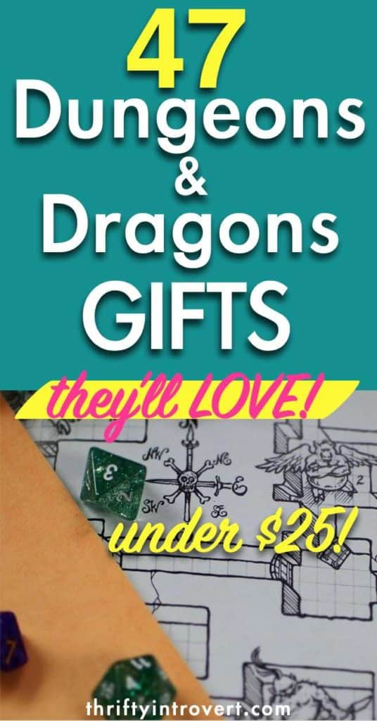 gifts for dnd players Pinterest pin1