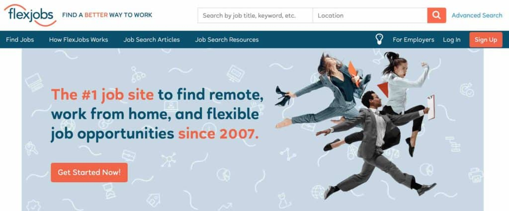 FlexJobs remote art and design jobs