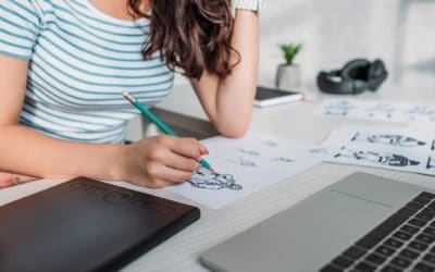 5 Easy Ways To Make Money Online Drawing (29 Sites That Pay!)