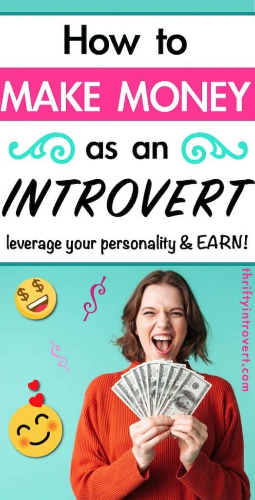making money for introverts pin 1