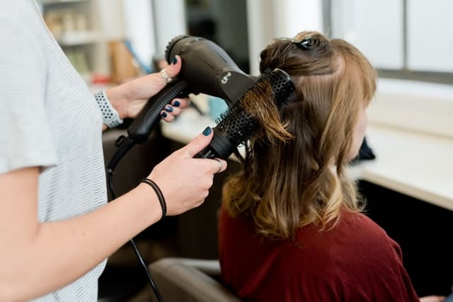 hairdresser blowdrying hair worst jobs for introverts