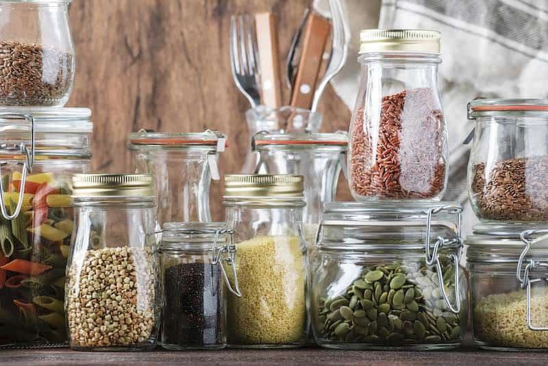 pantry items beans pasta rice cheap groceries to buy