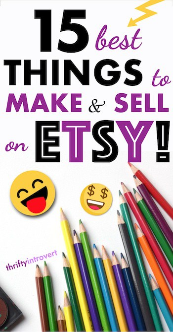 best things to sell on etsy to make money pin